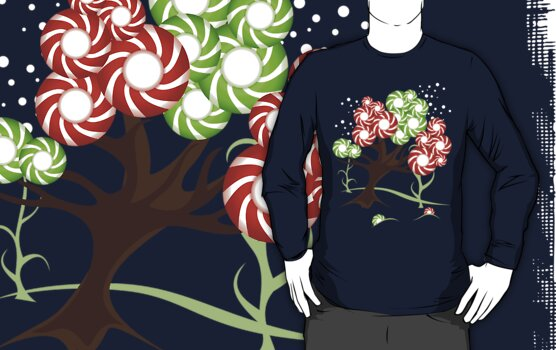Magic Candy Tree - V2 Tee by ruxique