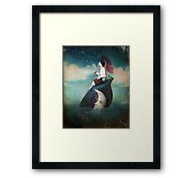 journey around the world Framed Print