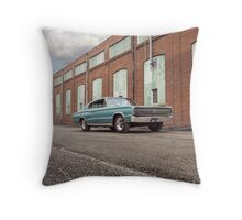 1966 Dodge Charger Throw Pillow