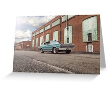 1966 Dodge Charger Greeting Card