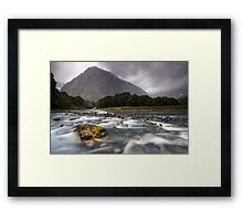 Fiordland National Park at its Best Framed Print