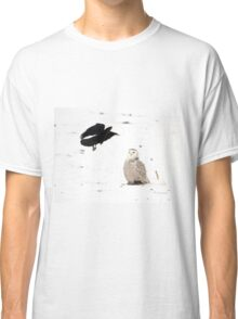 The crow and the owl Classic T-Shirt