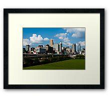 Cincinnati Skyline 9 Framed Print