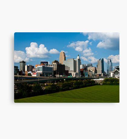 Cincinnati Skyline 9 Canvas Print