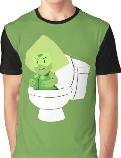 Toilet Gem Graphic T-Shirt