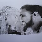 Daeny and Drogo by Quadcabbage