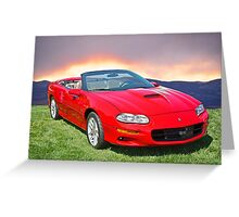 2011 Chevrolet Camaro SS Greeting Card