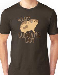 Crazy Guinea Pig Lady Unisex T-Shirt