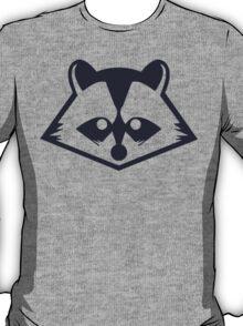 Navy Raccoon Head T-Shirt