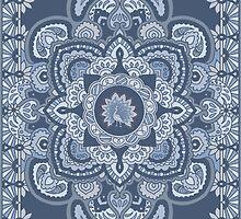 Blue Persian Peacock by redqueenself