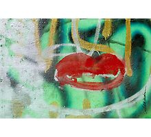 Red Kiss Photographic Print