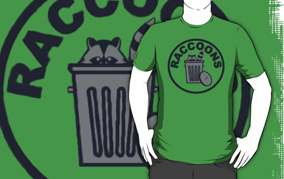 Trash Can Patch by Raccoons Hockey Club