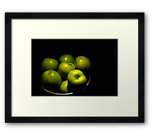Yummy Green Framed Print