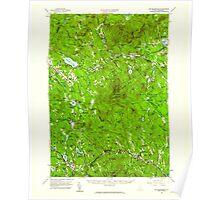 USGS TOPO Map New Hampshire NH Mt Kearsarge 330225 1956 62500 Poster