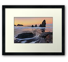 Once will take you to the dream Framed Print