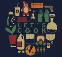 Breaking Bad Let's Cook T-Shirt by ntsu style