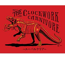 Clockwork Carnivore (Red EUPARKERIA-TYPE) Photographic Print