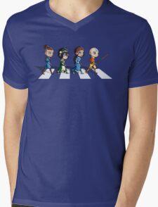Avatar Road Mens V-Neck T-Shirt