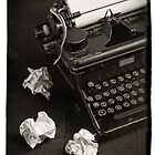 Vintage Typewriter by Edward Fielding