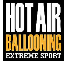 Hot Air Ballooning Extreme Sport Photographic Print