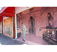 Chinatown Mural Photographic Print