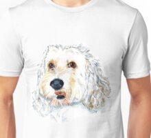 White Labraoodle Maggie Unisex T-Shirt