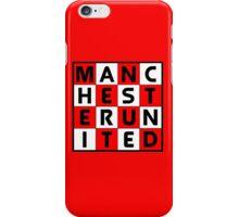 Manchester United - glory glory Man United iPhone Case/Skin