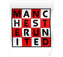 Manchester United - glory glory Man United Poster