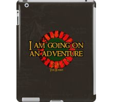 The Hobbit - I am going on an adventure! iPad Case/Skin