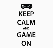 KEEP CALM and GAME ON (black) Unisex T-Shirt