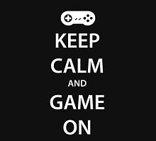 KEEP CALM and GAME ON (white) Unisex T-Shirt