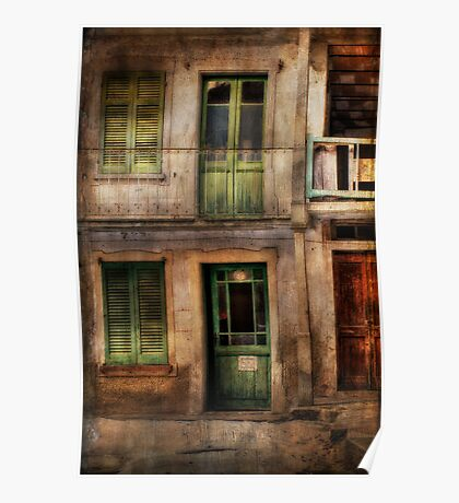Doors and windows Poster