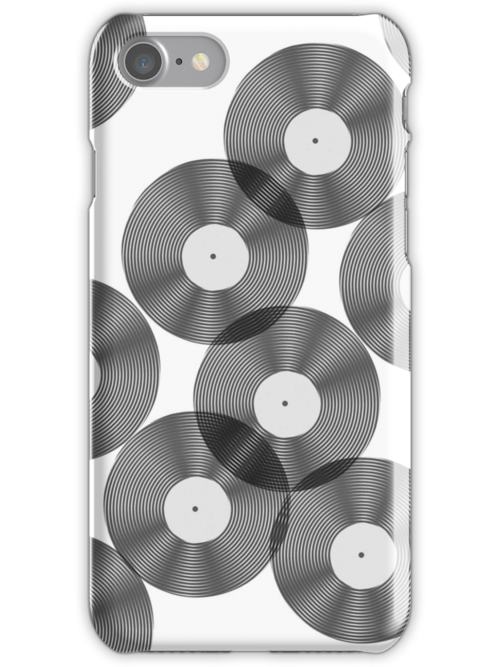 Vinyl Record Collection Case by simpsonvisuals