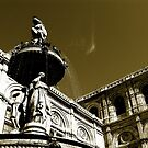fountain by the opera by kchamula