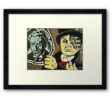 Reflections of a Stranger Framed Print