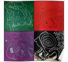 drawrings 1-4 Poster