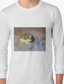 Peeking Peeper In Spring Swamp Water (not a recipe) Long Sleeve T-Shirt