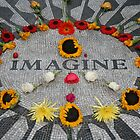 Imagine, Strawberry Fields, NYC by conorclear