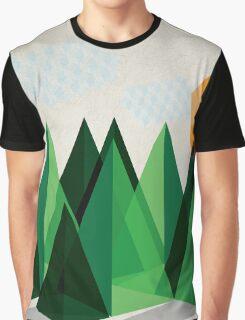 Geo-graphic Graphic T-Shirt