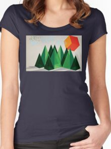 Geo-graphic Women's Fitted Scoop T-Shirt