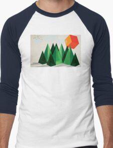 Geo-graphic Men's Baseball ¾ T-Shirt