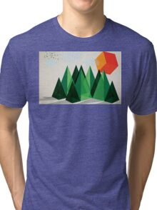 Geo-graphic Tri-blend T-Shirt