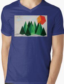 Geo-graphic Mens V-Neck T-Shirt