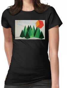 Geo-graphic Womens Fitted T-Shirt
