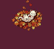 Autumn Cat Unisex T-Shirt