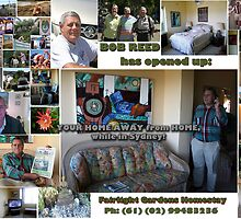 Fairlight Gardens B.&B.~ Homestay is up and running!  by MrJoop