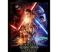 star wars episode VII the force awakens Photographic Print