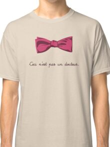 Ceci n'est pas un docteur Classic T-Shirt