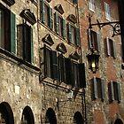 Siena street by hans p olsen