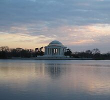 Jefferson Memorial by Kelly Morris